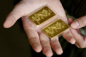 Cho dập thêm SJC vàng giảm giá sâu