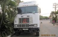 """""""Hiệp sĩ"""" tìm được xe container và số hàng trị giá 1,1 tỉ đồng bị mất trộm"""