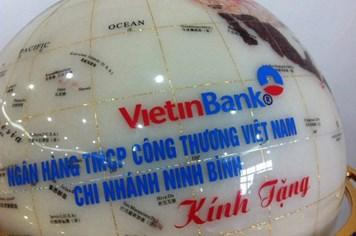 VietinBank Ninh Bình xin lại quà từ khách hàng
