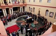 Thi hài cố Tổng thống Chavez được đưa vào bảo tàng