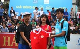 """Minh Minh - """"Người tình"""" của bóng đá"""