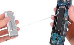 Cận cảnh kết cấu bên trong Galaxy S8+