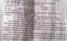 Nông dân giao đất cho đại gia làm dự án tại Hà Tĩnh: Giá 1m2 đất chưa mua nổi gói mì tôm