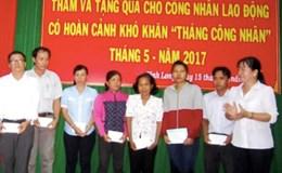 LĐLĐ tỉnh Vĩnh Long: Vận động đóng góp hơn 1,9 tỉ đồng vào quỹ xã hội