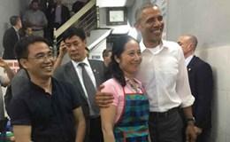 Kể chuyện nghề nhân Ngày Báo chí 21.6: Ăn bún chả cùng Tổng thống Barack Obama