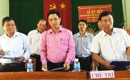 Công đoàn Bình Định hỗ trợ xây dựng nông thôn mới