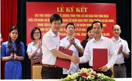 LĐLĐ tỉnh Bắc Giang: Ký thỏa thuận hợp tác với 7 đối tác