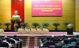 LĐLĐ TP.Hà Nội tự hào về Người Thư ký Ban Thường trực Liên đoàn Lao động