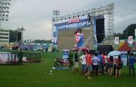 Giải bóng đá Suzuki cup 2014: Người hâm mộ TPHCM hướng về Hà Nội...