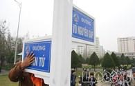 Gắn biển đường mang tên Đại tướng Võ Nguyên Giáp ở Đà Nẵng