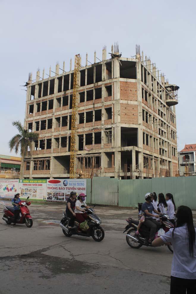 Cung Văn hóa Thiếu nhi sau 5 năm xây dựng.
