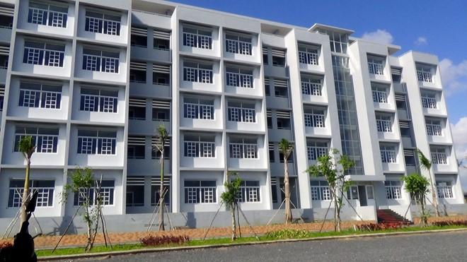 Hiện đã hoàn thành 2 tòa nhà với 150 phòng có sức chứa 1.200 chỗ