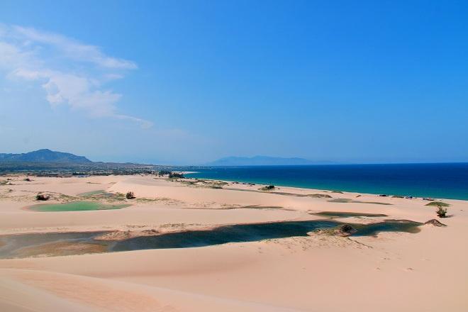 Sơn Hải - nơi đồi cát hùng vĩ chạy ra sát biển đẹp mê hồn - Ảnh minh hoạ 12