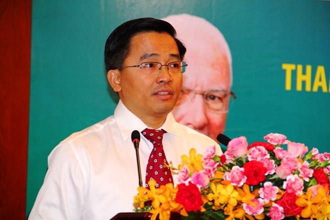 Ông Nguyễn Tấn Anh-Trưởng đoàn Bóng đá HAGL tự hào khi CLB HAGLđược mời đại diện Đông Nam Á tham dự cùng các đội bóng trên khắp năm châu.