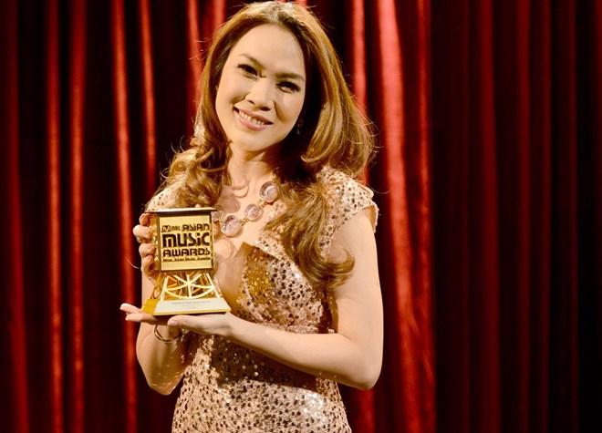 Trong năm qua Mỹ Tâm nhận được nhiều giải thưởng âm nhạc quốc tế danh giá.