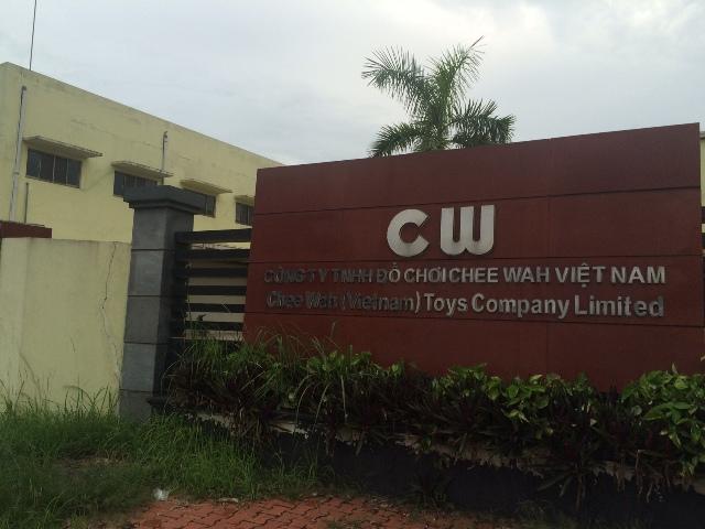 Cty TNHH Đồ chơi CheeWah-Việt Nam: Bất bình với chất lượng