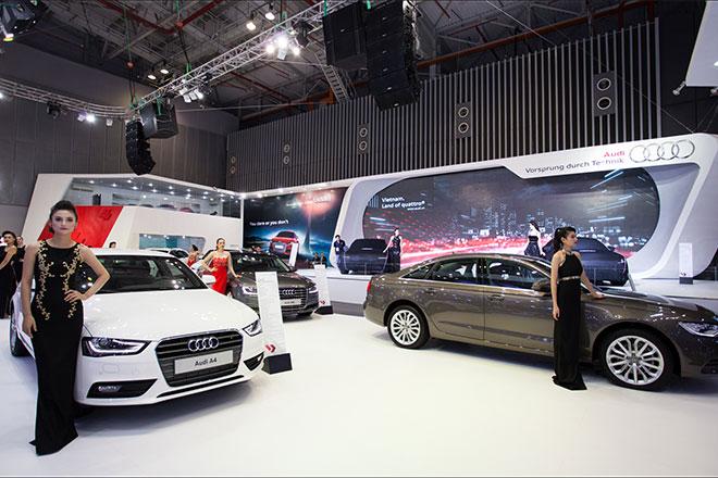 Việt Nam sẽ có hai triển lãm xe lớn trong năm 2015.