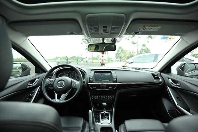 Nội thất Mazda6
