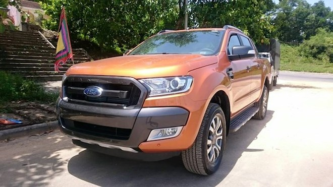 Ford Ranger, cái tên gây sốc nhất thị trường xe Việt Nam tháng 11.2015.
